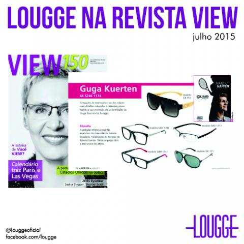 Lougge na Revista View
