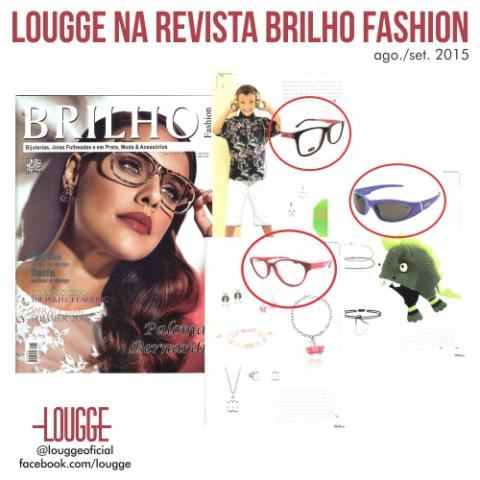 Lougge é Capa da Revista Brilho Fashion