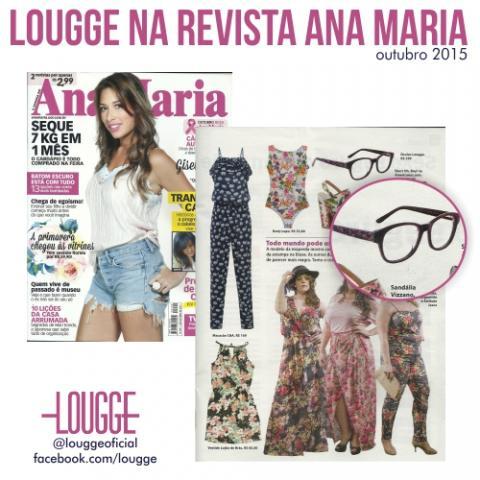 Lougge na Revista Ana Maria