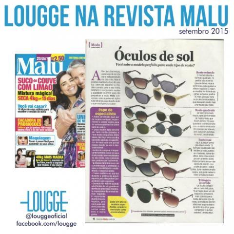 Lougge na Revista Malu