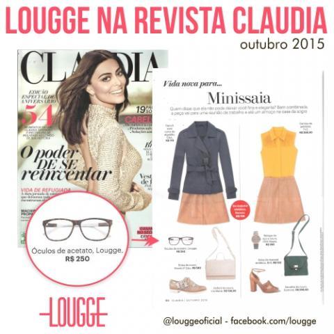 Lougge na Revista Claudia