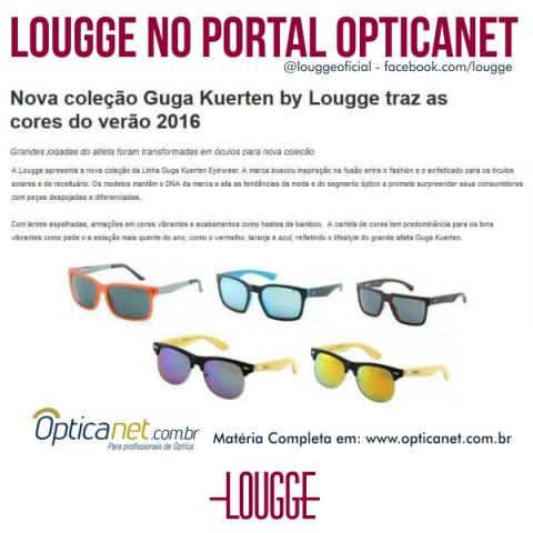 Lougge no Portal Opticanet