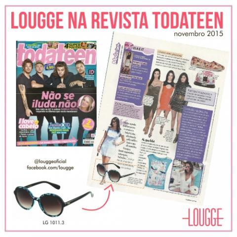 Lougge na Revista Todateen