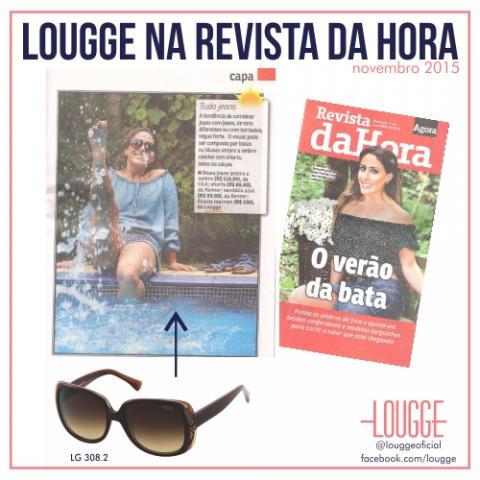 Lougge na Revista Da Hora