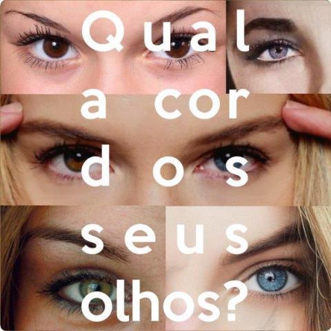 #louggeblog Qual a cor dos seus olhos?
