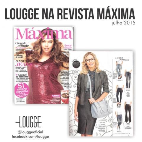 Lougge na Revista Máxima