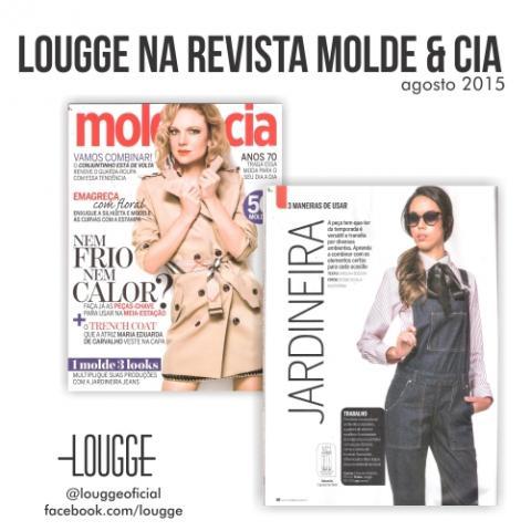 Lougge na Revista Molde & Cia