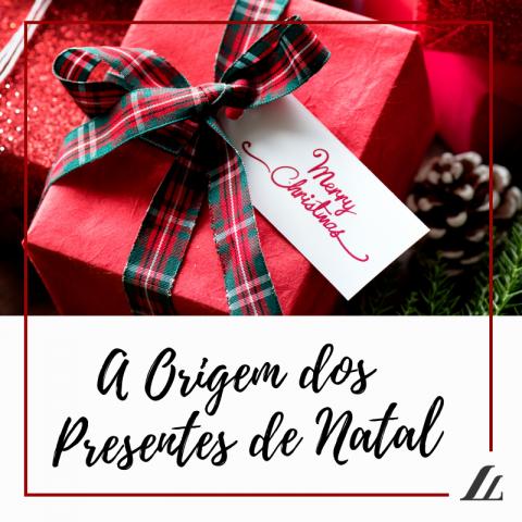 A Origem dos Presentes de Natal