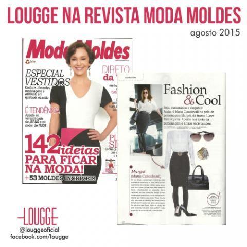 Lougge na Revista Moda Moldes