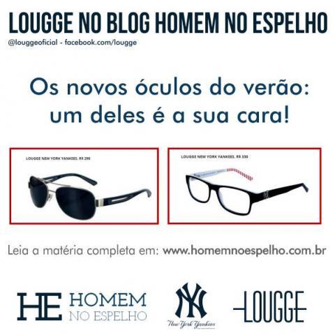 Em um país como o nosso, os óculos de sol devem ser companheiros  inseparáveis para evitarmos os conhecidos problemas oculares. Assim, o Blog  Homem no ... 23b003a57e